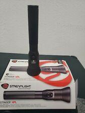 Streamlight 75980 Stinger Led Hpl Rechargeable Flashlight NO CHARGER. DAMAGE BOX