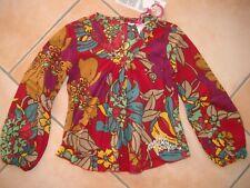 (71) Nolita Pocket Girls Bluse Tunika Ballon Ärmel und Logo Glitzer Druck gr.140
