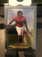💥PSA?💥 2020 TOPPS CHROME TURKEY RED ATLANTA BRAVES RONALD ACUNA JR SP NICE!