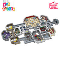 Among Us the Skeld Full Map Model MOC-53670 Building Blocks Toys Sets 1432 Brick