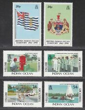 British Indian Ocean Territory 1990-91 25th Anniv / BIOT Administration Mint