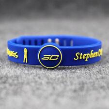 Stephen Curry  Silicon Bracelet Basketball adjustable Wristband Strap