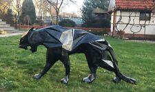 Wild Cat by Spectre Art, Panther like Richard Orlinski , Black &Glitter magma