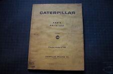 CAT Caterpillar Dealer Price List guide manual 105 1986 dozer crawler tractor