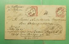 DR WHO 1874 GERMANY BERLIN UPRATED STATIONERY  g18179