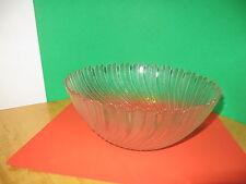 "Large Serving Bowl Salad Bowl Arcoroc Seabreeze Pattern 10"" x 4"" Fine Dining"