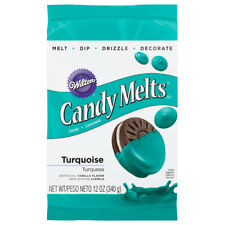 Wilton Candy Melts Each Is 12oz - Turquoise