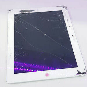 Apple iPad 4th Gen. A1458 SOLD AS IS/Crack Screen/ PIN LOCKED