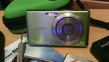 GREEN--Sony Cyber-shot DSC-W530 14.1MP Digital Camera IN GOOD CONDITION.