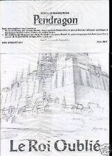 JDR RPG JEU DE ROLE / PENDRAGON DEUXIEME EDITION ECRAN + LIVRET