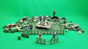 1998 DSI Blockmen Lot - Military Building Blocks w/ Figs & Extras! 250+ Pieces!