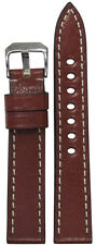 18mm RIOS1931 for Panatime Mahogany Oxford Vintage Leather Watch Band 114/82 18/