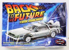 BACK TO THE FUTURE DELOREAN POLAR LIGHTS MODEL KIT 6811 SEALED 2002