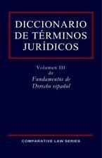 Diccionario de Terminos Juridicos (Paperback or Softback)