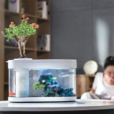 New XIAOMI Geometry Fish Tank Aquaponics Ecosystem Water Garden Home Decorative