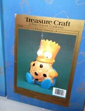 ✰ BRAND NEW SEALED! BART SIMPSON COOKIE JAR'S TREASURE CRAFT