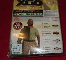 XGO MEN'S PHASE 4 FR HEAVYWEIGHT FLEECE LS TOP SAND  X-LARGE 4F11A NIP