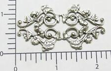 25024 Victorian Ornament Jewelry Finding Silver Oxidized