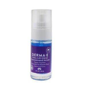 NEW Derma E Ultra Lift DMAE Concentrated Serum 1oz Womens Skincare