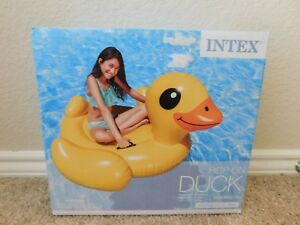 Brand new in the box Intex Duck inflatable ride-on pool float