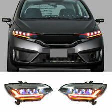 For Honda Fit 2015-2019 LED Headlights Projector LED DRL Replace OEM Headlight