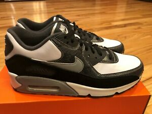 Nike Air Max 90 QS Python White Particle Grey Anthracite CD0916 100 Size 8.5