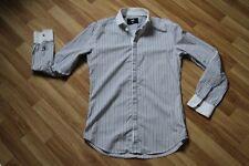 D&G DOLCE & GABBANA BRAD Classica Camicia 16/41 100% Autentico!