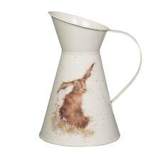 Wrendale Designs Hare Illustrated Flower Jug - Lovely Flower Jug - Friend`s Gift