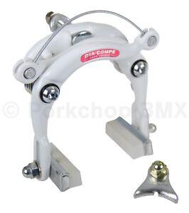 Dia-Compe old school BMX reissue 750 center pull bicycle brake caliper WHITE