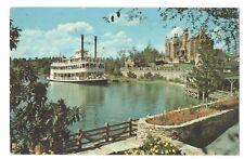 Cruising The Rivers Of America Walt Disney World Postcard Aug17