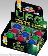 Good Boy Dog/Puppy Toy - UFO Flashing Light Up Dog Toy Bouncing Ball