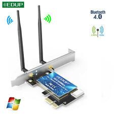 EDUP 600Mbps PCI-E Wifi Card Adapter Bluetooth 4.0 Dual Band Wireless Network