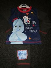 Boys Toddler Official In the Night Garden PJs Iggle Piggle Pjs Age 18-24 MTHS
