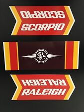 Raleigh Scorpio Decals