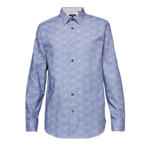 Ted Baker - Montpel Blue Floral Shirt - 2/Small - *NEW WITH TAGS* RRP £89