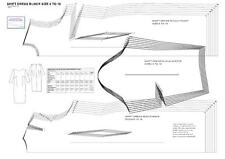 SHIFT DRESS BLOCK SIZES 6 to18 DESIGNER FASHION PATTERN CUTTER -SLOPER-