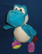 New with Tags Yoshi BLUE PLUSH Super Mario 2019 Nintendo 15-inches Tall