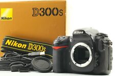 [Near Mint] Nikon D300S Digital SLR Camera Black Body Strap Box From Japan a14