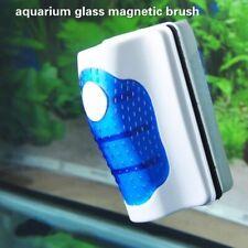 Aquarium Fish Tank Floating Super Magnetic Glass Cleaner Algae Scraper Brush