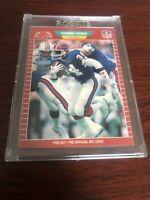 1989 Pro Set Thurman Thomas Rookie Buffalo Bills # 32 MINT