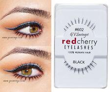 NIB~ Red Cherry #602 False Eyelashes UNDER BOTTOM AUTHENTIC LOLA Strip