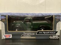 Motor Max American Classics 1941 Plymouth Pickup 1:24 Scale