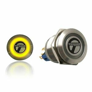 Trigger Billet Button :: Yellow Illumination trigger horns TRGA8 muscle