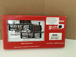 Slaters Wagon Kit -  OPEN 5 PLANK WAGON GLOUCESTER MORGAN BROs SEALED OO/4mm