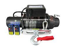 12V 13000lbs Electric Winch 9mm x 28m Dyneema Rope 4WD 4x4 13000lb 12000lb