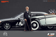 1/18 Wilhelm Maybach Very Rare! figures for1:18 Cmc Autoart Mercedes