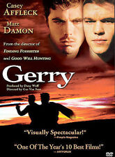 GERRY DVD MATT DAMON CASEY AFFLECK