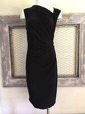Victoria's Secret Little Black Dress Black Medium Ruched Stretch Sleeveless