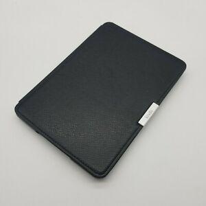 Amazon Kindle Paperwhite Original Black Leather Case Cover Gen 1-3