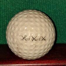 Vintage Fred Hawkins PGA Tour Player Signature Golf Ball.